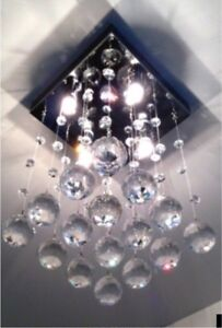 Plafonier en CRYSTEAUX en VENTES LIQUIDATIONS Luminaires