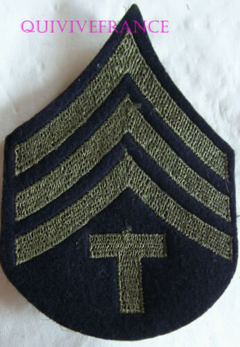 dIN103 - Patch US Army Rank Stripes For Technician Fourth Grade
