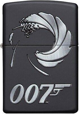 Zippo Choice James Bond 007 Collection WindProof Lighter Black Matte 29566 NEW
