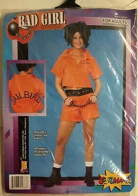Ladies Prison Costume Halloween Bad Girl Convict Jailbird ](Bad Girl Halloween Costume)