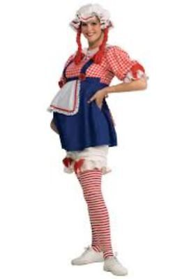 Maternity Halloween Costumes RAG DOLL Adult Std Size Mommy to Be Fancy Dress