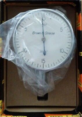 Brown And Sharpe 599-7207 Dial Indicator