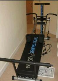 total trainer pilates multi gym