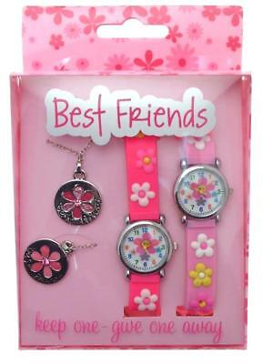 Best Friends Watches Gift Set Floral Watches Kids
