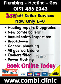 new combi boilers, gas servicing, water leaks, new cooker points, plumbing, landlord safety certs.