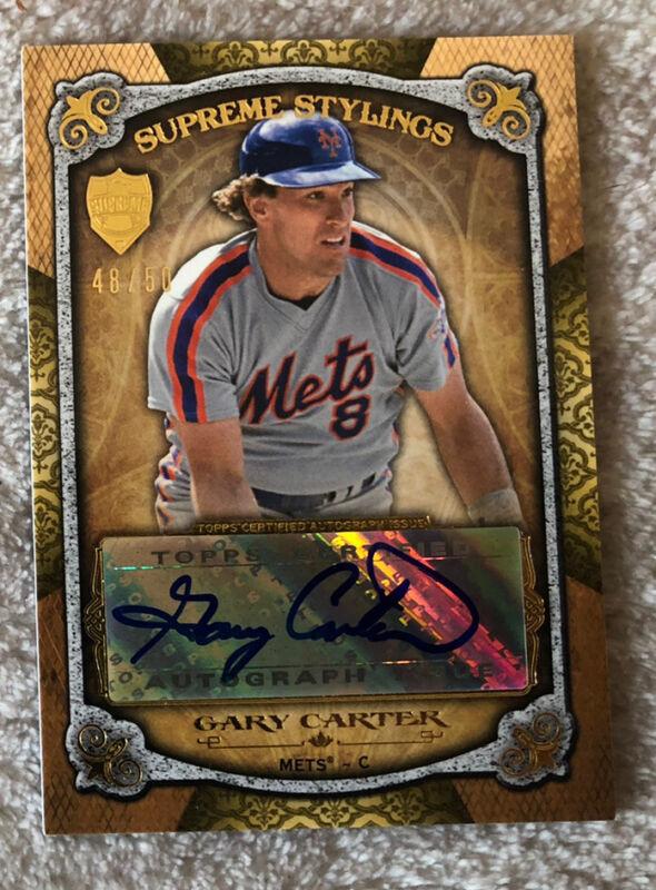 1988 Fleer Glossy #130 Gary Carter NM-MT Mets