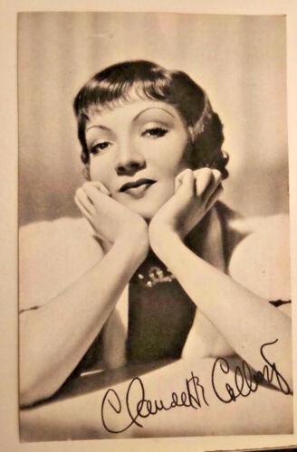 1930s Hollywood Picture Postcards Photogravure Portrait