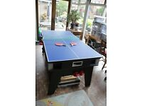 6ft Multi Games Table - Pool/Air Hockey/Table Tennis