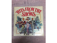 Hits From The Shows Uk 8 X Vinyl LP Record - Box Set Vinyls Fab Condition