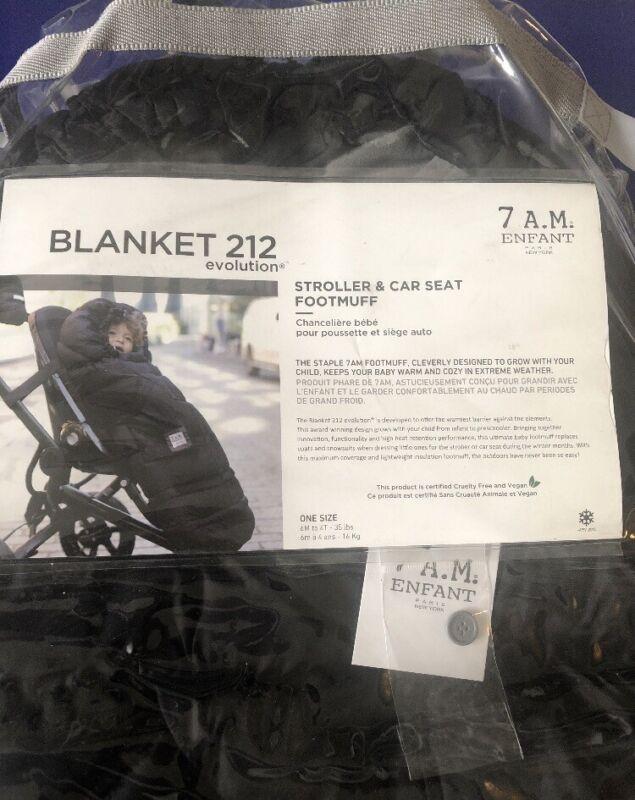 7am Enfant 212 Evolution blanket black