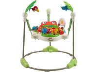 Fisher Price Rainforest Jumperoo. Excellent condition.