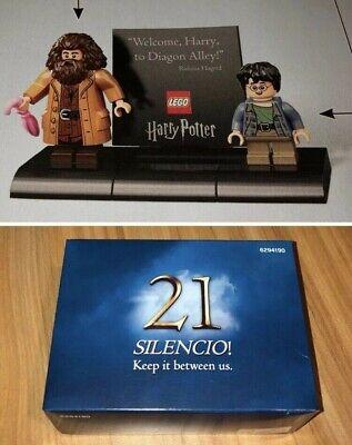 SEALED LEGO Top Secret Harry Potter Silencio Box 75978 Harry Potter Diagon Alley