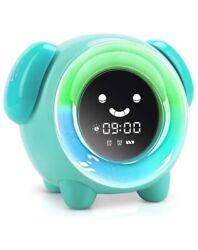 KNGUVTH Kids Alarm Clock, Updated Version Sleep Training Kids Clock with 7 Ch...