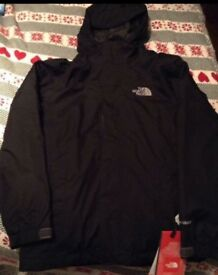 BRAND NEW - The North Face Boys Boundary Triclimate Jacket RRP £140 (MEDIUM) Age 10-12