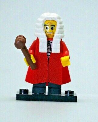 Lego Minifigure Series 9 Judge  - Loose, Complete, Authentic LEGO