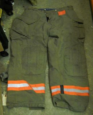 Morning Pride Firemans Turnout  Bunker Pants Gear 40/32 Globe Fire Dex Securitex