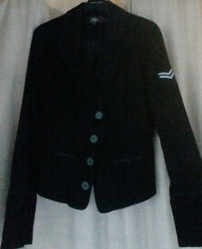 Military Corporal Style Ladies jacket, Size 10