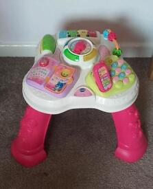 Vtech girls activity table