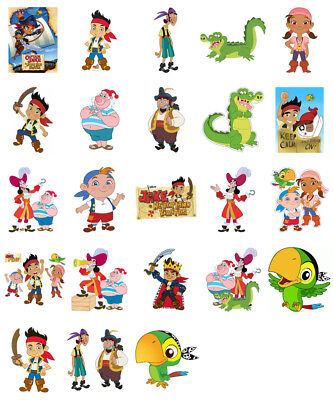 Jake and the Neverland Pirates, iron on T shirt transfer. Choose image and size - Jake And The Neverland Pirate Shirt