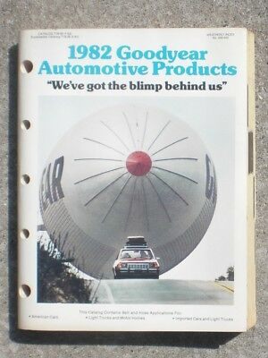 Goodyear Tire   Rubber Co  1982 Automotive Products Catalog