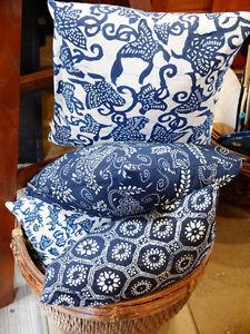Hand-made-in-Berkeley-indigo-fabric-pillow-shibori-fiber-filling-indoor