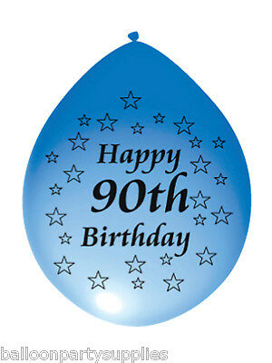py 90th Birthday Assorties Couleurs (Happy 90th Birthday Ballons)
