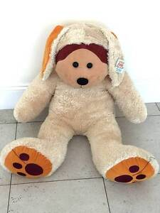 Giant Waggs the Dog Bear Beanie Kid -Excellent Xmas Present -New Linden Park Burnside Area Preview