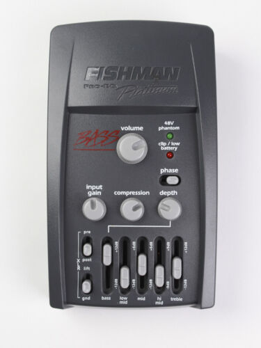 Fishman Pro-EQ Platinum Bass D.I. for double bass.