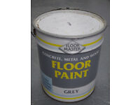 Garage/Workshop floor paint - Floor Master 20 litres - Grey