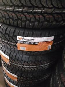 LT265/75R16 BRAND NEW SET ALL SEASON TERRAIN TIRES 10 PLY POWERTRAC 265/75/R16 WHEELS 265 75 16 LT