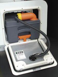 SOG 1 Toilettenentlüftung Typ F  für Thetford C 250  C 260 Toilette weiß