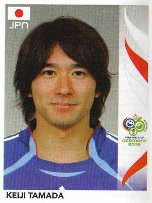 PANINI STICKER FU BALL WM 2006 NR 452 KEIJI TAMADA JPN JAPAN BILD NEUWARE