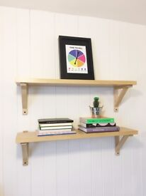 Trendy Hipster Bookshelves