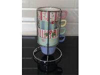 Stack of mugs