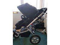 mothercare my 3 3 wheel pushchair / pram