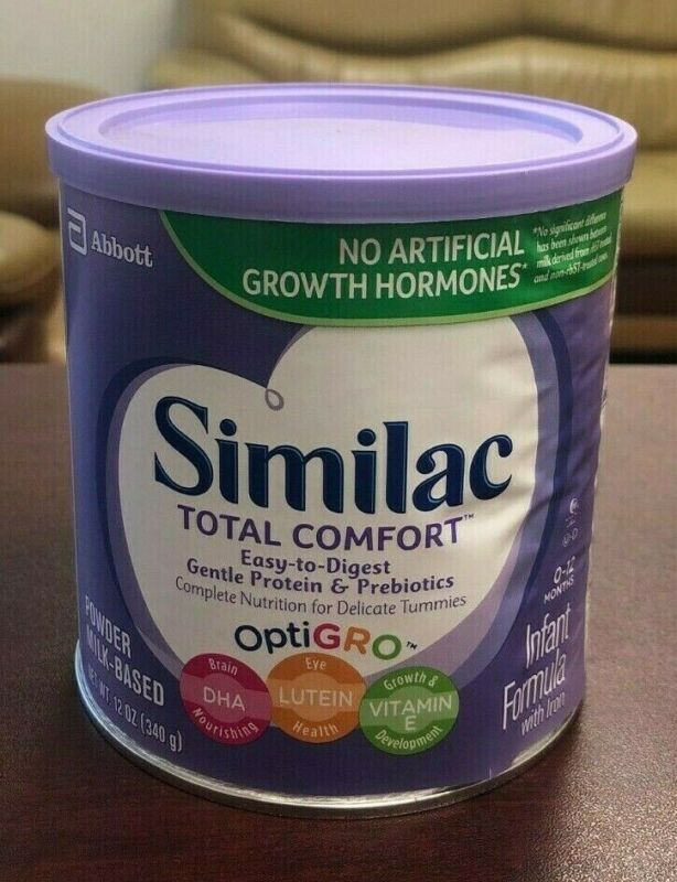 3 CANS Similac TOTAL COMFORT 12 OZ LOT OF 3 EXP 8/22