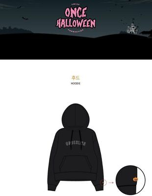 TWICE Fanmeeting HALLOWEEN Official Goods Hoodie Size M ONCE MD - Halloween Goods