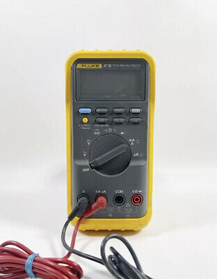 Fluke 87 Iii True Rms Multimeter With Leads Free Shipping