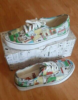 Vans PEANUTS Shoes Snoopy The Gang Charlie Brown Skate Shoes Men's 9