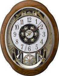 (New!) JOYFUL MEDITATION Musical Magic Motion Clock by Rhythm Clocks 4MH400