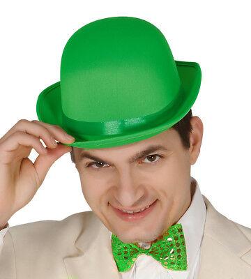Herren Grün Melone Riddler Maskenkostüm Deluxe St.Patrick's Day Neu (Herren Riddler Kostüm)