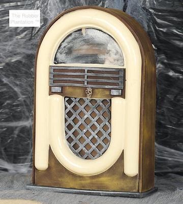 Vintage Hanté Radio Allumer & Son sans Fil Décoration D'Halloween Accessoire (Sons D'halloween)