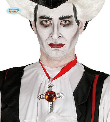 Halloween Dracula / Vampire Cross With Ruby Like Stone](Dress Like Vampire Halloween)