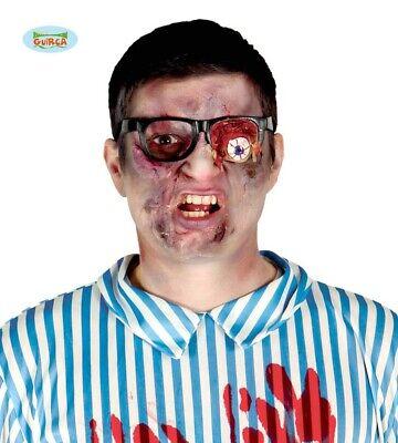 Zombie Horror Brille mit verletztem Auge Halloween Party Zubehör für Erwachsene
