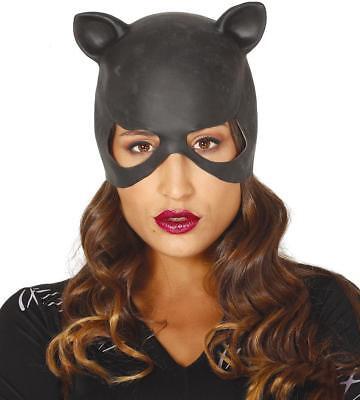Maschera donna gatto catwoman in lattice