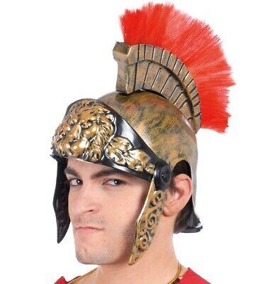 Elmo Per Costume Di Carnevale Uomo Da Soldato Centurione Romano Travestimento