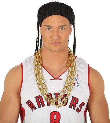 Mr.T Goldene Halskette A Team 80's Bling Gangster Rapper Kostüm Ba - Bling Halskette Kostüm