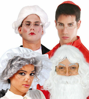 Weihnachtsmann Brillen Weihnachtsmann Kostüm Zubehör Oma Oval - Oma Kostüm Brille
