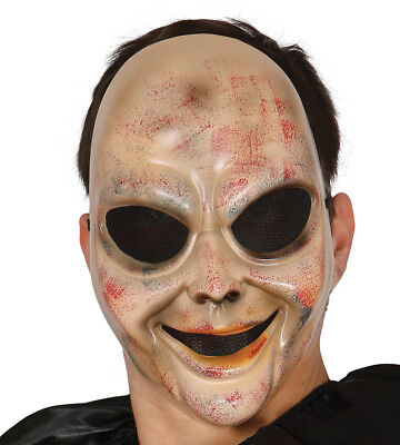 Scary Halloween Films (Scary Halloween Mask Purge TV Film Horror Fancy Dress Costume Face Masque)