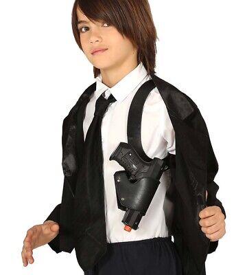 Childs Police Gun & Shoulder Holster Cop Fancy - Fancy Dress Gun Holster